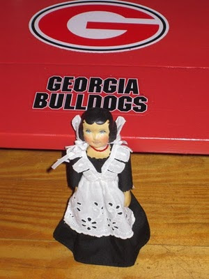 Hitty Flora in Georgia Bulldog country