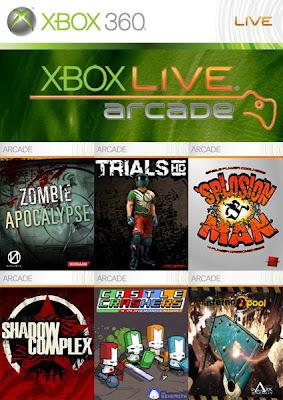 Xbox Live Arcade PACK   XBOX 360