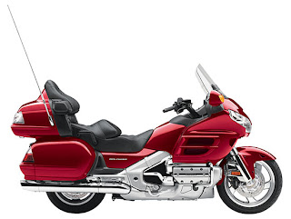 2010 Metallic Red Honda Gold Wing GL18HPM Audio Comfort