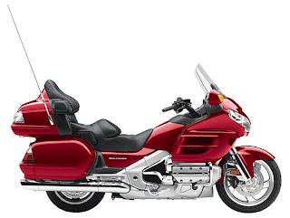 2010 Metallic Red Honda Gold Wing GL18HPM Audio Comfort
