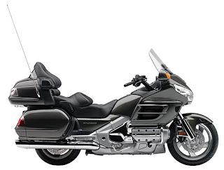 2010 Metallic Titanium Honda Gold Wing GL18HPM Audio Comfort