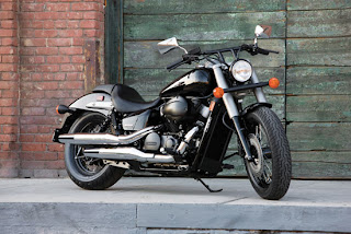 Elegant Motorcycles Honda VT750C2A Shadow Phantom 2010