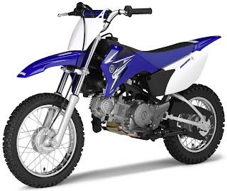 2010 Vintage Motorcycles Yamaha TT-R110E
