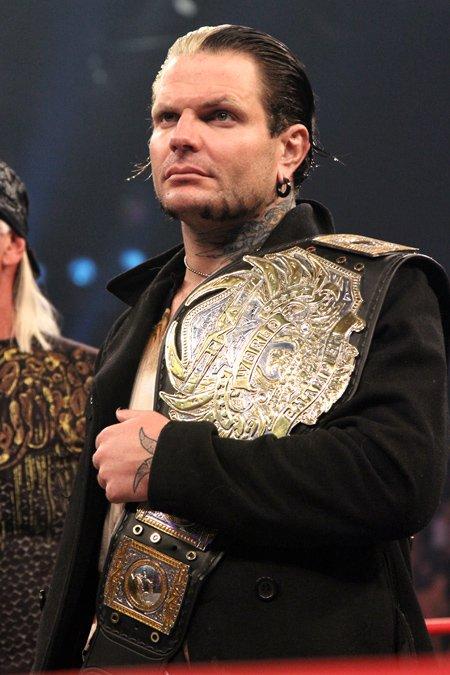 Jeff Hardy World Heavyweight Champion Rip heel jeff hardy.
