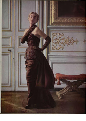 Womens Dress Style after the War - evening gowns
