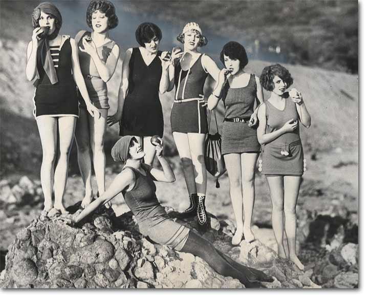 A Brief History of Swimwear