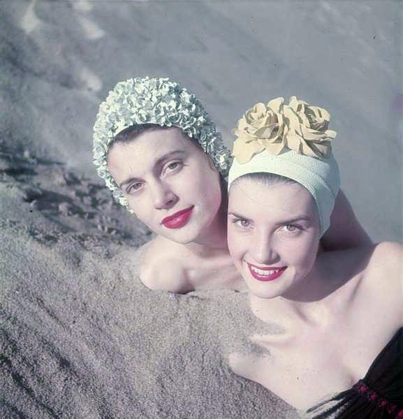 through your wedding ring 1950 39s Swimwear