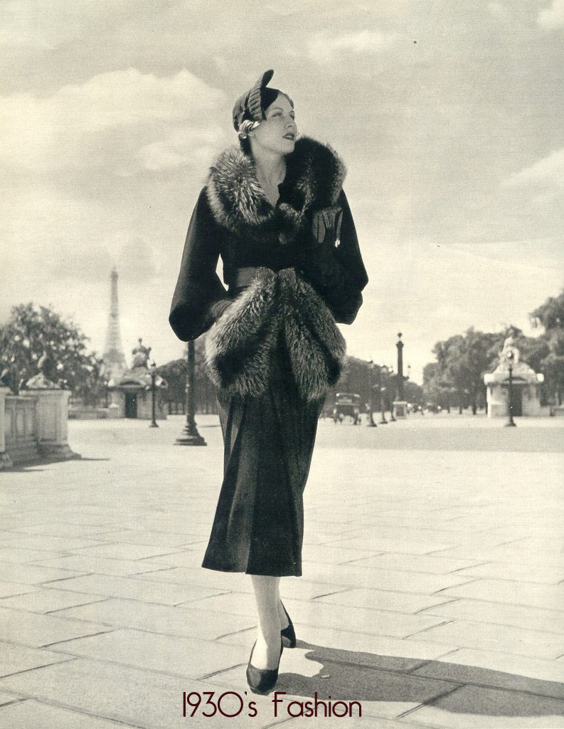 Fantastic What Did Women Wear In The 1930s  Day Dresses Sleeve And Classic