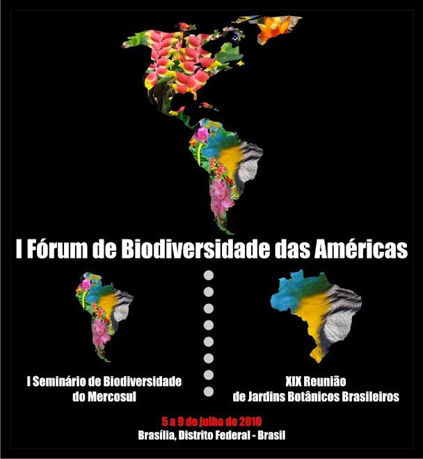 I Fórum de Biodiversidade das Américas