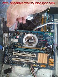 Tutorial 2 Memasang Graphic Card Pada Motherboard Komputer Anda