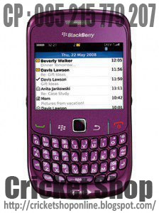 CRICKET SHOP ONLINE: BlackBerry Gemini 8520 (Curve). Rp.1.650.000,-
