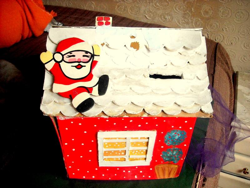 Enfeites De Festas Infantis E Cia A História Da Caixinha De Natal