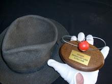Con el IGNASITO-Premio de la XI Tobada de Pallassos.