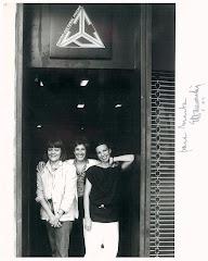 Con Ana Rosa Gallegos y  Hortensia Carrer.