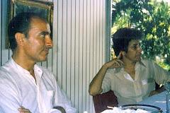 Con Manuel Puig.