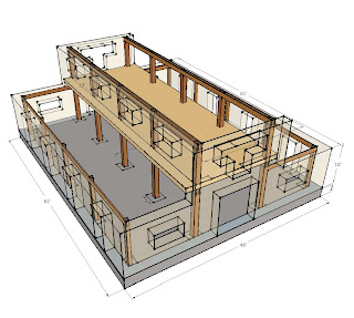 House Barn Plans on Straw Bale Timberframe Hybrid Monitor Barn  September 2009