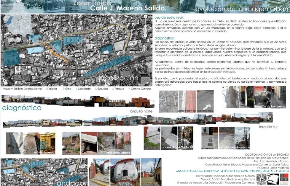 Servicio social facultad de arquitectura unam segunda for Laminas arquitectura
