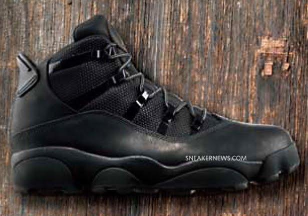 Mens Air Jordan Six Rings Winterized Black shoes