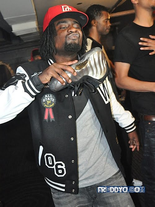 """4d96e36a8163e KICK GAME   Spotted  Wale in Nike Foamposite One """"Pewter"""""""