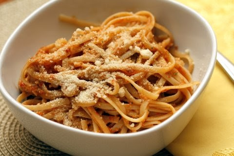 ... Restaurant: Pasta with Tomato and Almond Pesto (Pesto alla Trapanese