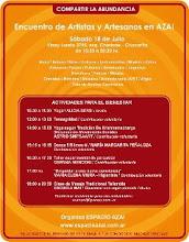 Clase de Danza de los 5 Ritmos®  en Encuentro de Artistas y Artesanos en Espacio Azai.