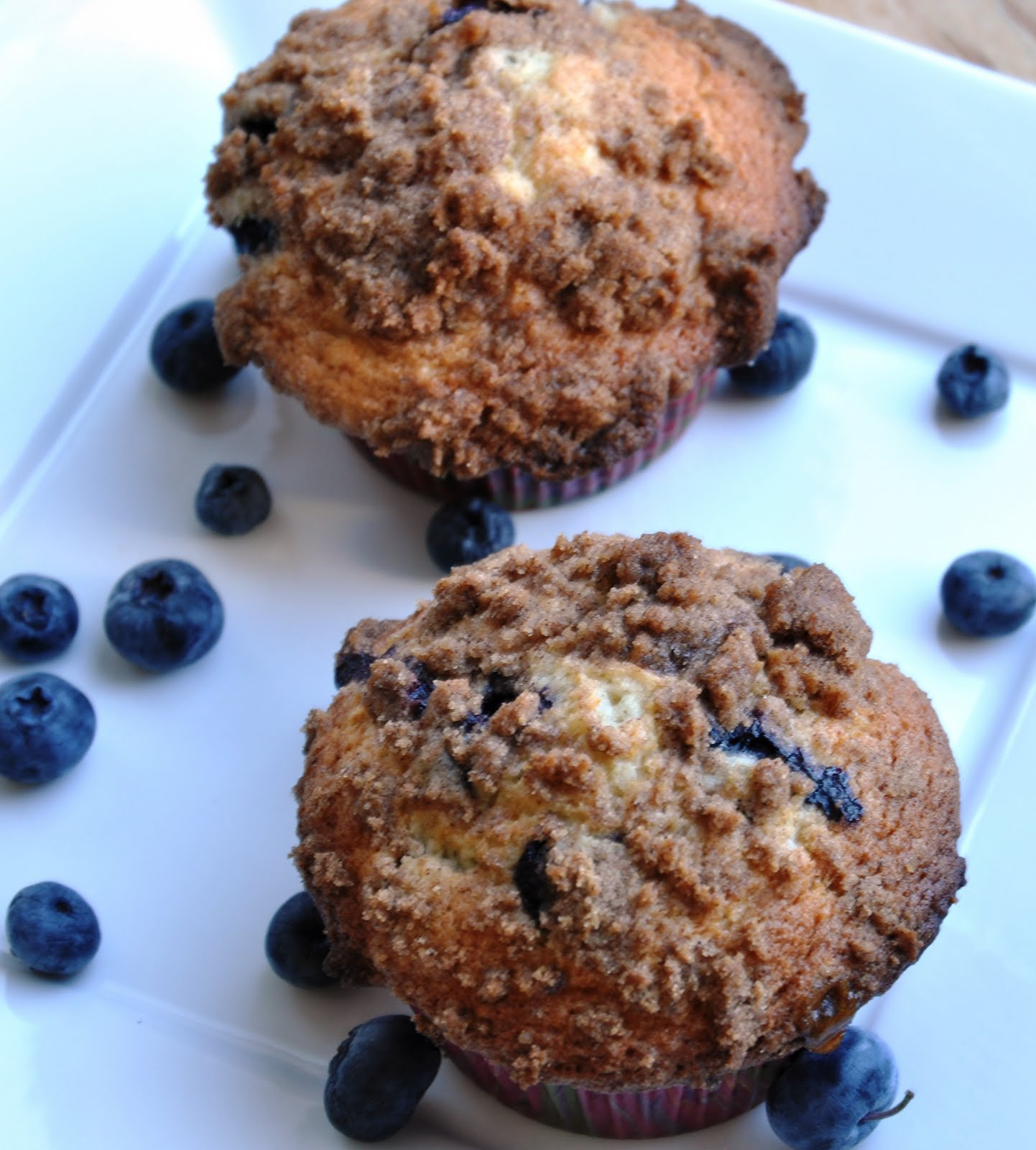 To Die For Blueberry Muffins (REDUCED FAT & 295 Calories) - Honey ...