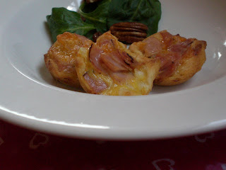 ham and cheese tarts