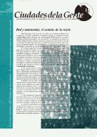 Boletín Nº extraordinario Ciudades de la Gente