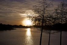 Sunset in Shadow Creek