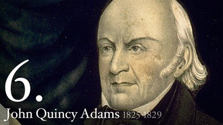the life and presidency of john quinsy adams On the date, the house of representatives elected secretary of state john  quincy adams as president following an inconclusive electoral college result,  the.