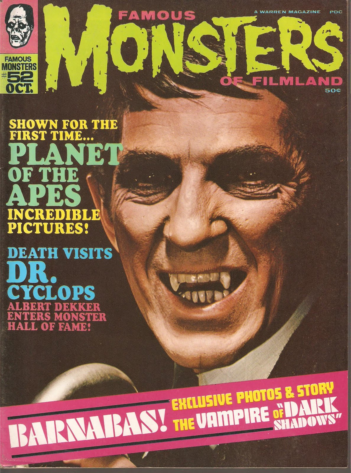 Famous Monsters of Filmland - 1962 Summer-Fall Yearbook
