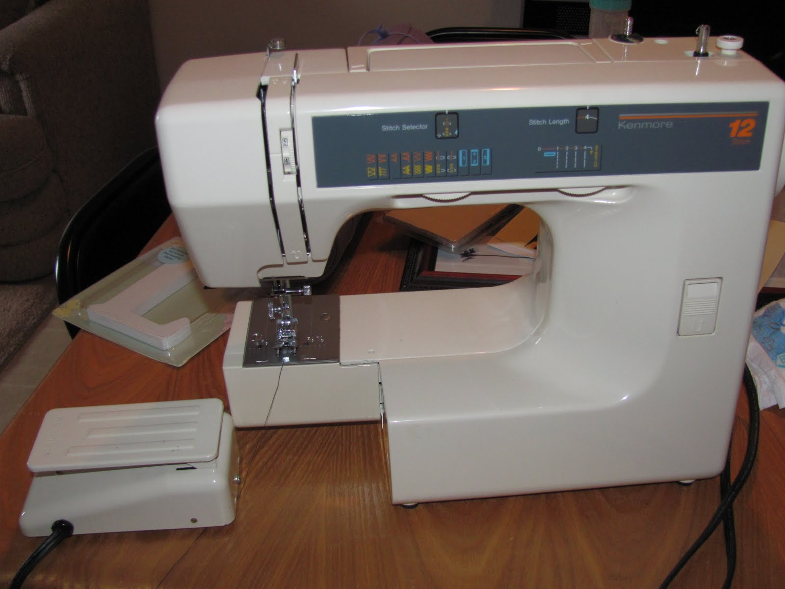 kenmore 24 sewing machine