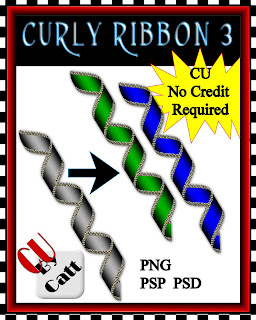 Curly Ribbon 3 & 4 - By: Catt's Scrapps CATT+CURLY+3+CU++PREVIEW