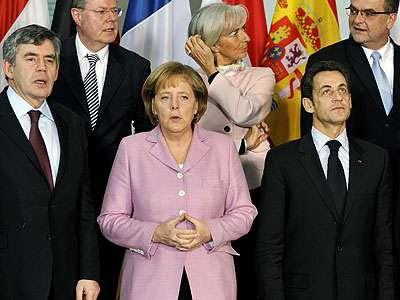 Parte de la foto de familia del G-20
