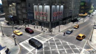 cidade de gta4 predios game jogos diversao e humor