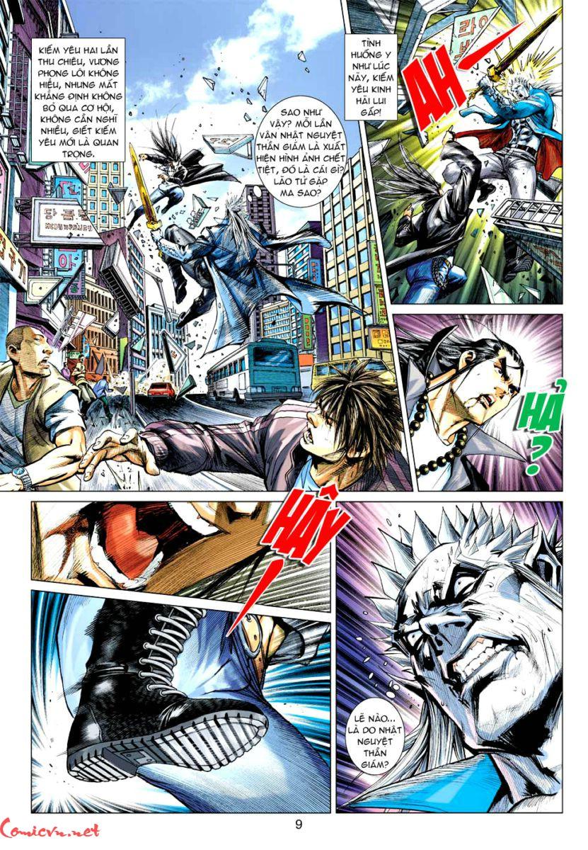 Vương Phong Lôi 1 chap 57 - Trang 8