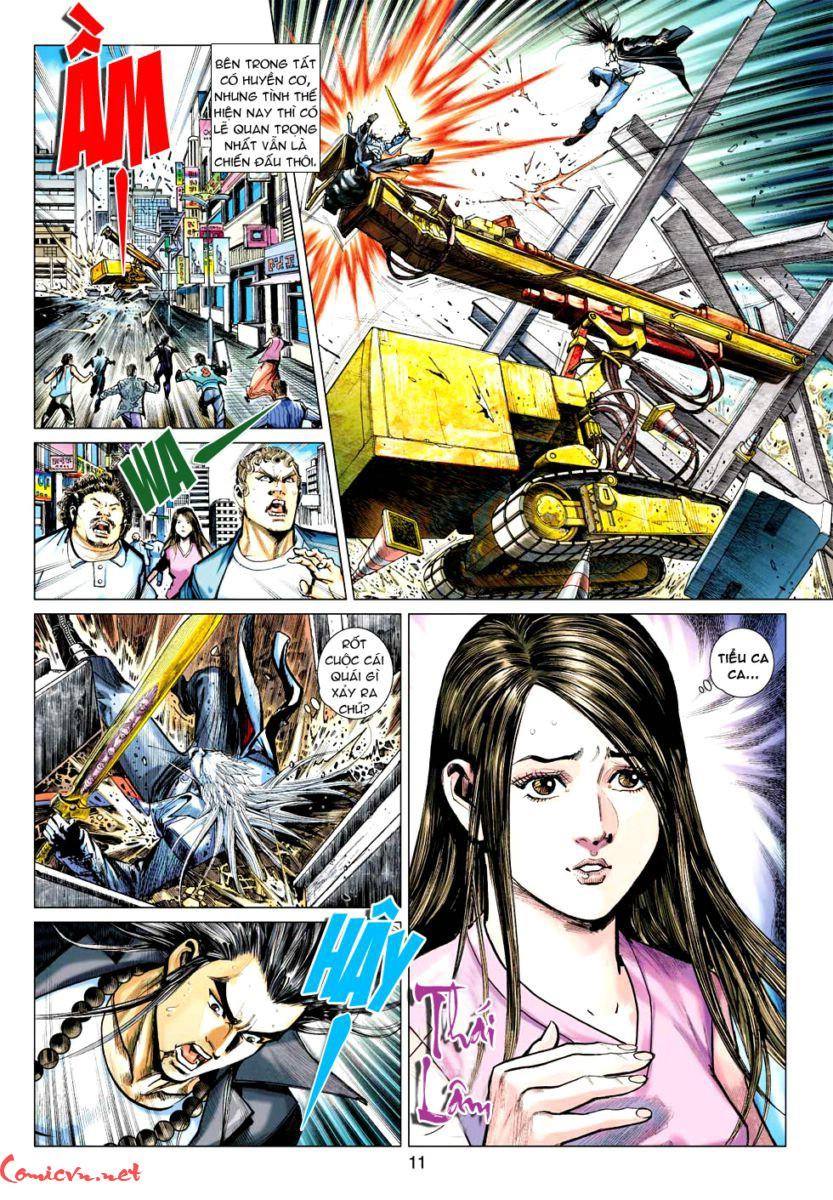 Vương Phong Lôi 1 chap 57 - Trang 10