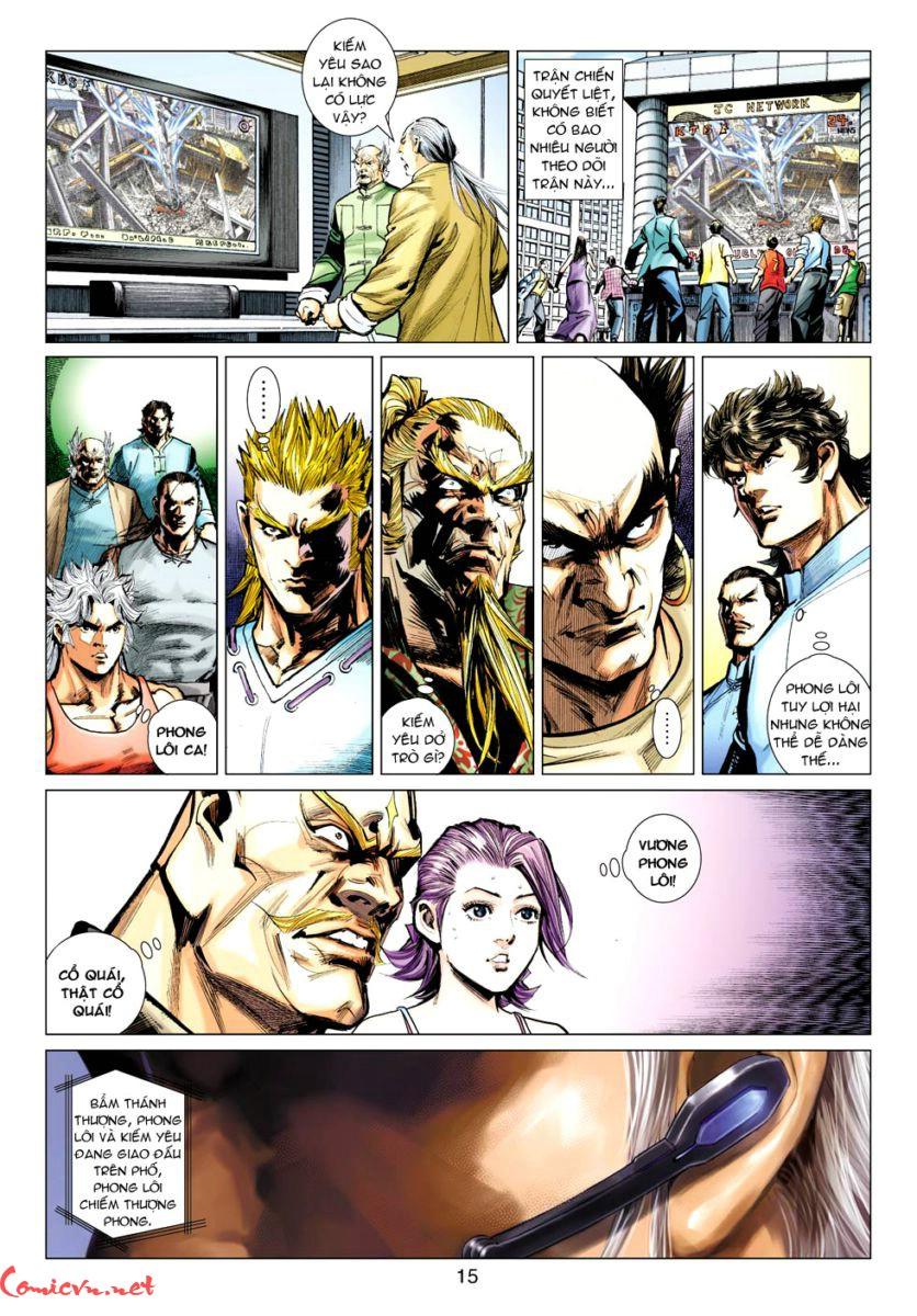 Vương Phong Lôi 1 chap 57 - Trang 14