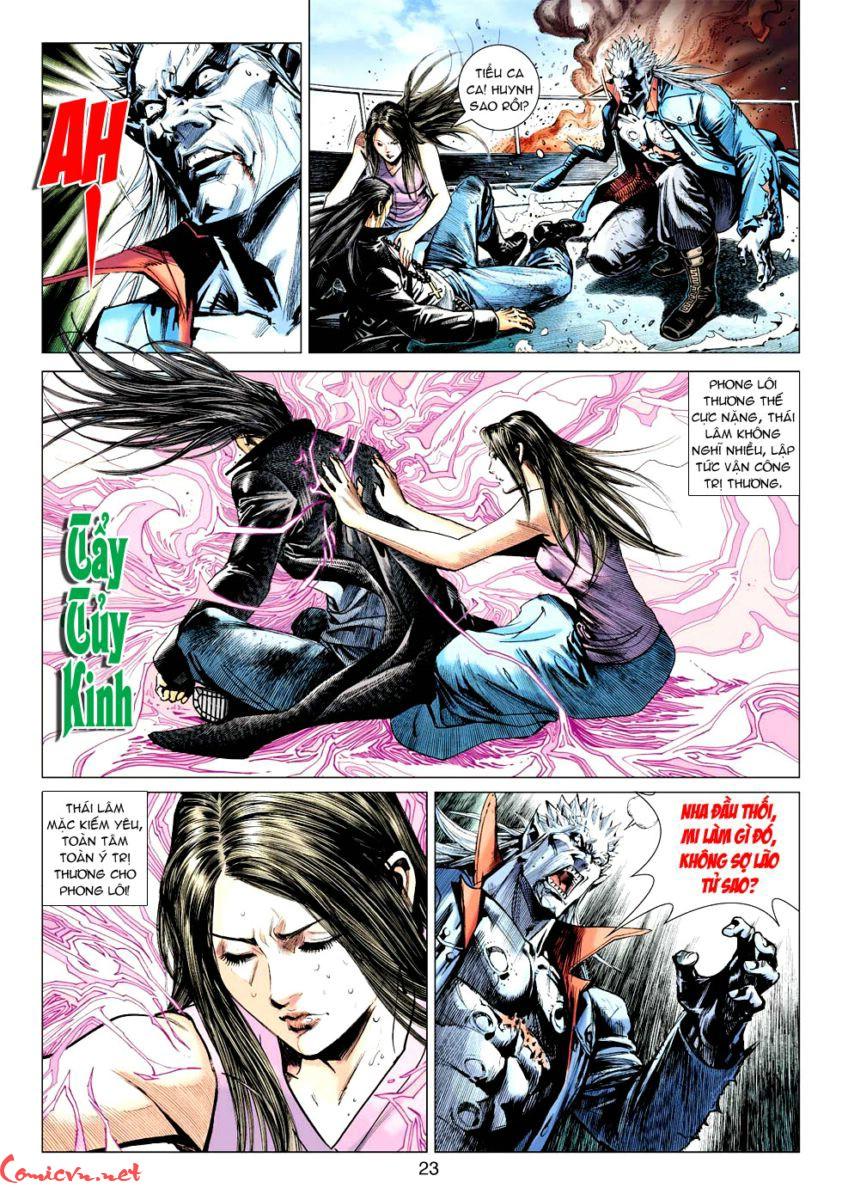 Vương Phong Lôi 1 chap 59 - Trang 22