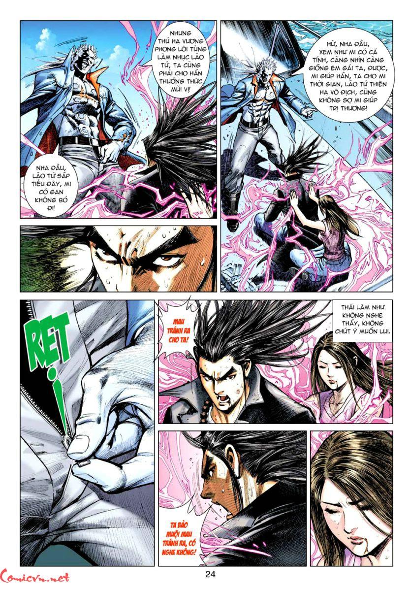 Vương Phong Lôi 1 chap 59 - Trang 23