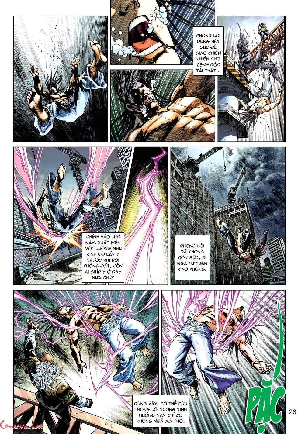 Vương Phong Lôi 1 chap 49 - Trang 27