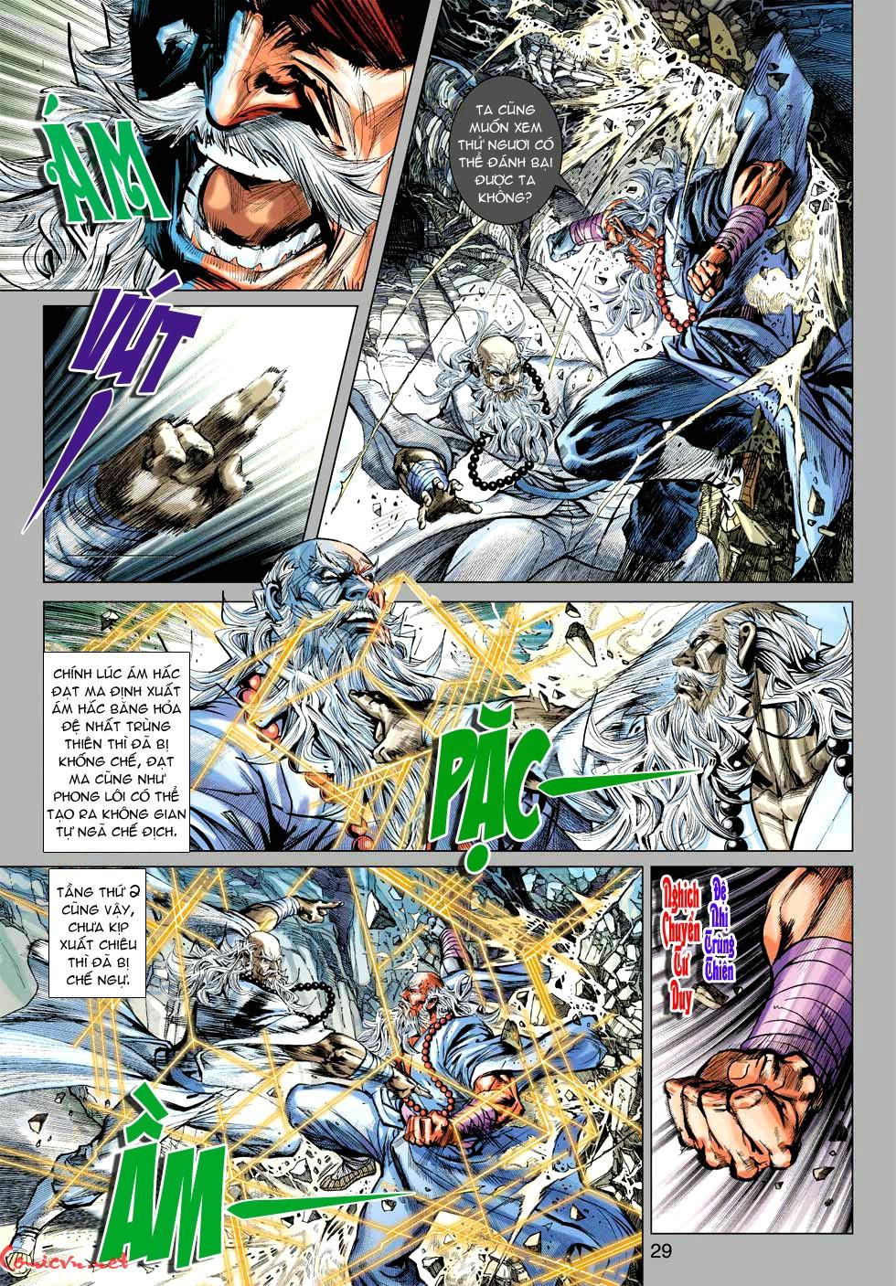 Vương Phong Lôi 1 chap 49 - Trang 30