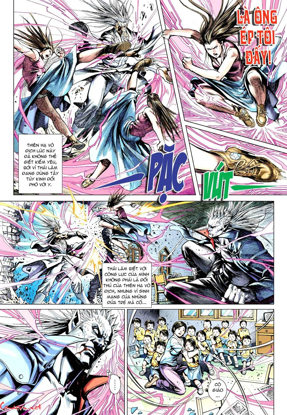 Vương Phong Lôi 1 chap 49 - Trang 11