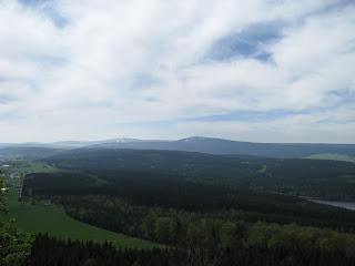 Blick zum Keil- und Fichtelberg