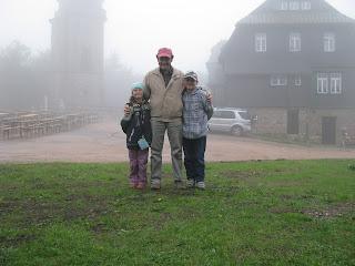 Nebel auf dem Auersberg