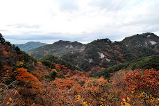 Korea's mountains in Fall