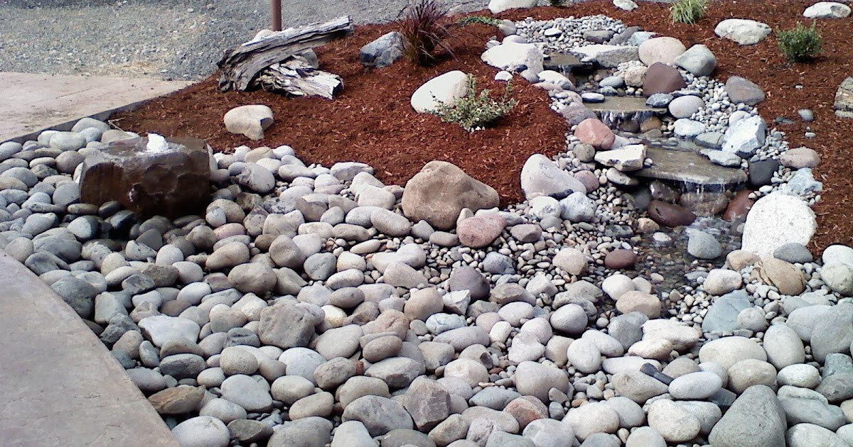 Concrete curbing and landscaping tacoma puyallup water for Landscaping rocks tacoma