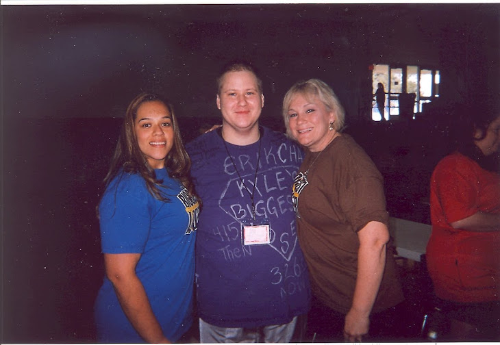 Myself, Dina Mercado and Liz Young from season 8
