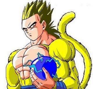 Papel de Parede Gogeta Super Saiyajin 4 - Dragon Ball GT