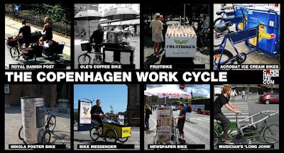 Copenhagen Cargo Bike Culture